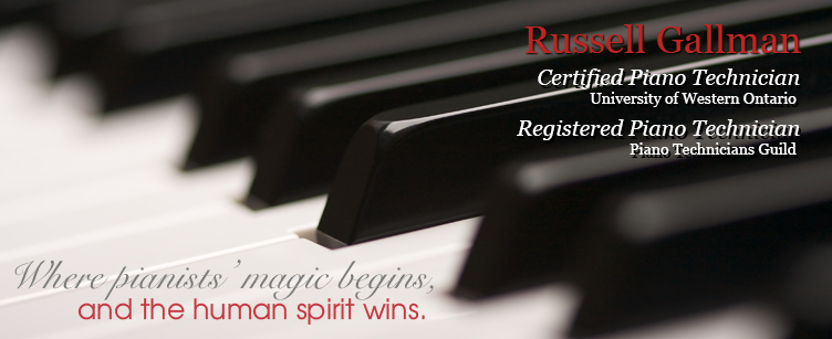 Russell Gallman - Certified Piano Technician